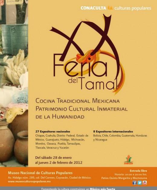 Feria del tamal 2012