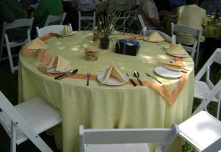 Mesa para evento